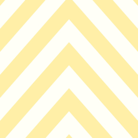 GEEL CHEVRON BEHANG - Dutch Make Believe 12573