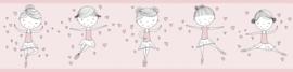 DANSENDE BALLERINA BEHANGRAND - AS Creation Lovely Kids 403722