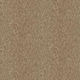 BRUIN CHIQUE ZIJDE BEHANG - Dutch Embellish DE120123