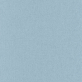 LICHT BLAUW LINNENLOOK BEHANG - Caselio Linen 68526000