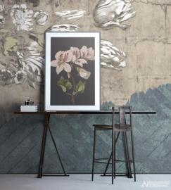 Fotobehang WALLFLOWER (M) - Vanilla Lime Wallpaper Mural 014116