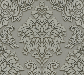 BEIGE TAUPE ORNAMENTEN BEHANG - AS Creation Metropolitan Stories 368981