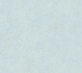 LICHT BLAUW GEMELEERD BEHANG - AS Creation History of Art 37654-1