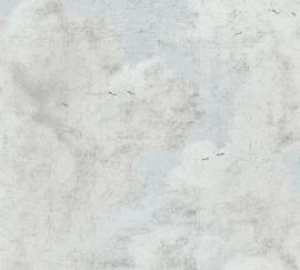 VOGELS IN DE WOLKEN BEHANG - AS Creation History of Art 37649-1