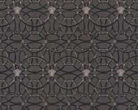 KLASSIEK ORNAMENTEN BEHANG - Zwart Zilver - AS Creation Versace 4