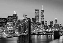 Fotobehang 00138 Manhattan Skyline at Night
