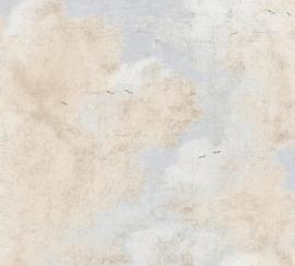 VOGELS IN DE WOLKEN BEHANG - AS Creation History of Art 37649-2