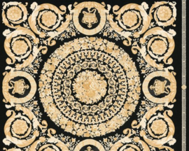 KLASSIEK ORNAMENTEN BEHANG - Zwart Creme Goud - AS Creation Versace 4