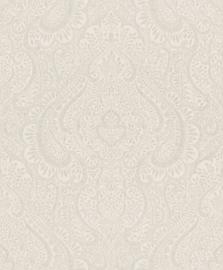 ZILVEREN ORNAMENTEN BEHANG - Rasch Textil Jaipur 227825