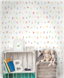 ALFABET BEHANG - Dutch Make Believe 12560