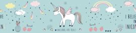 EENHOORN BEHANGRAND - AS Creation Lovely Kids 403746