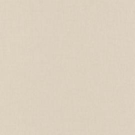 CREME LINNENLOOK BEHANG - Caselio Linen 68521443