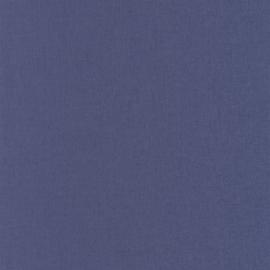 BLAUW LINNENLOOK BEHANG - Caselio Linen 68525283