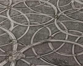 KLASSIEK ORNAMENTEN BEHANG - Grijs Zilver - AS Creation Versace 4