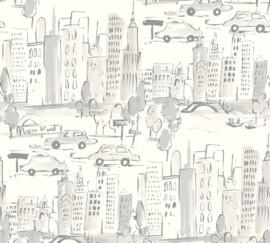 NEW-YORK GETEKEND BEHANG - AS Creation Boys & Girls 6 36753-3