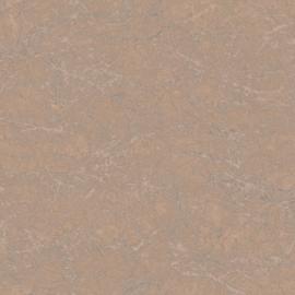 BRUIN/ZILVER GEMELEERD METALLIC BEHANG - Casadeco Oxyde 29123115