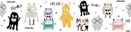 MONSTER PARTY BEHANGRAND - AS Creation Lovely Kids 403754