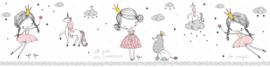 EENHOORN MET PRINSES BEHANGRAND - AS Creation Lovely Kids 403755