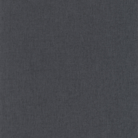 ZWART/GRIJS LINNENLOOK BEHANG - Caselio Linen 68529560