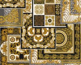 KLASSIEK TRADITIONEEL BAROK BEHANG - Zwart Goud - AS Creation Versace 4