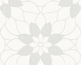 GRAFISCHE BLOEMEN BEHANG - AS Creation Neue Bude 2.0 361707