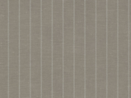 TAUPE LINNENLOOK STREEP BEHANG - BN Wallcoverings Riviera Maison 219902