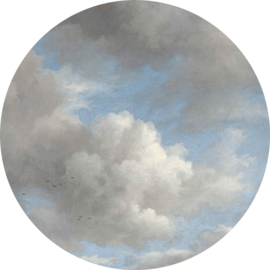 "Behangcirkel Golden Age Clouds ""Jacob van Ruisdael (1650-1682)"" - KEK Amsterdam Wonderwalls CK-007"
