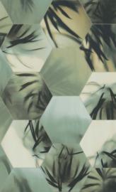 TROPISCHE BLADEREN BEHANG - BN Wallcoverings Dimensions 219570