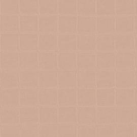 OUDROZE GESTIKT LEDERLOOK BEHANG - ARTE Atelier ALMA 21014