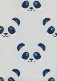 BLAUWE PANDA BEHANG - Noordwand Fabulous World 67100-2