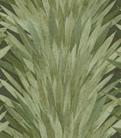 GROENE PANDANBLADEREN BEHANG - ARTE Selva ABANICO 34001