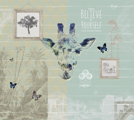 Fotobehang BELIEVE IN YOURSELF - Windmill Avenue 6332030