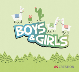 AS Creation Boys & Girls 6 Behangcollectie