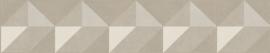 GEOMETRISCH GESTIKT LEDERLOOK BEHANG - ARTE Atelier COSMA 21063