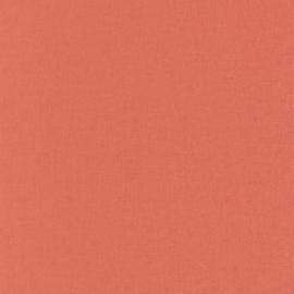 ORANJE/ROOD LINNENLOOK BEHANG - Caselio Linen 68523400