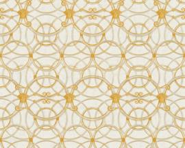 KLASSIEK ORNAMENTEN BEHANG - Zilver Goud Creme - AS Creation Versace 4