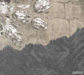 Fotobehang WALLFLOWER (M) - Vanilla Lime Wallpaper Mural 014118