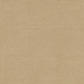 WARM BEIGE GESTIKT LEDERLOOK BEHANG - ARTE Atelier CAMPO 21050