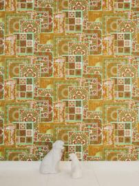 KLASSIEK TRADITIONEEL BAROK BEHANG -  Groen Goud - AS Creation Versace 4