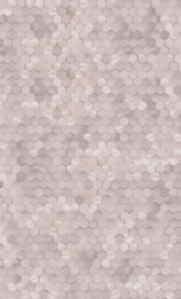 OUD ROZE HEXAGON BEHANG - BN Wallcoverings Dimensions 219584