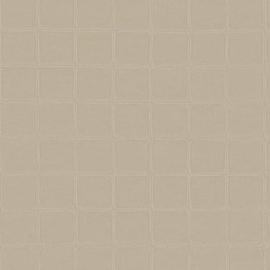 BEIGE GESTIKT LEDERLOOK BEHANG - ARTE Atelier ALMA 21011