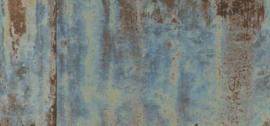 Roest-, beton- en metalenbehang