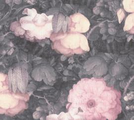 GROTE ROZE BLOEMEN BEHANG - AS Creation Metropolitan Stories 369212