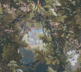 VOGELS IN HET BOS BEHANG - AS Creation History of Art 37652-2