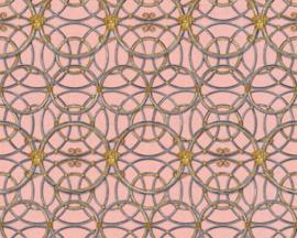 KLASSIEK ORNAMENTEN BEHANG - Goud Zilver Roze - AS Creation Versace 4