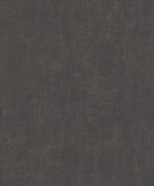 ZWART BRUIN TEXTIELLOOK BEHANG - BN Wallcoverings Textured Stories 46006
