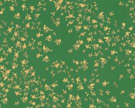 KLASSIEK BLOEMETJES BEHANG - Groen Geel - AS Creation Versace 4