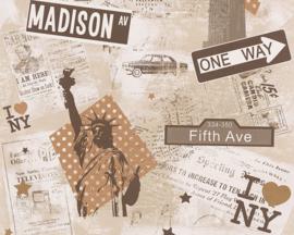 NEW YORK BEHANG - AS Creation Boys and Girls 4 93625-2 ✿✿✿
