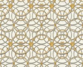 KLASSIEK ORNAMENTEN BEHANG - Zilver Goud Grijs - AS Creation Versace 4