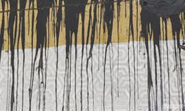 Fotobehang SPILT MILK (L) - Vanilla Lime Wallpaper Mural 014109